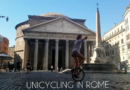 UNICYCLING IN ROME